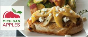 grilled-chicken-with-apples-and-feta