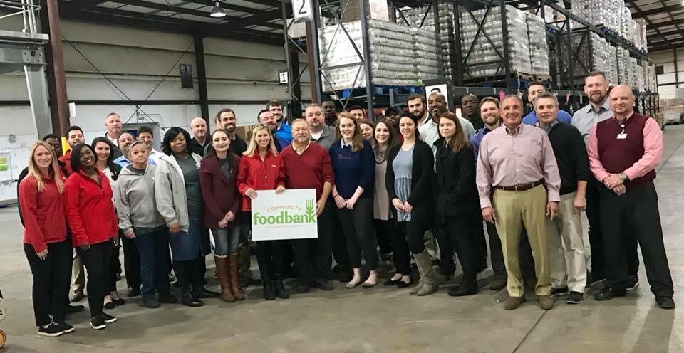 Community Food Bank of Central Alabama & Coca Cola 2017