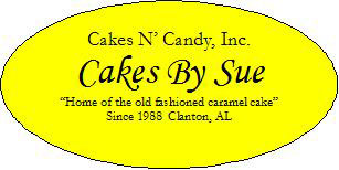 Cakes N' Candy's, Cakes By Sue