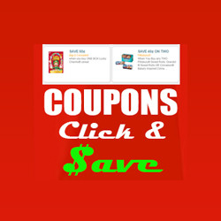 Link photo to coupons page