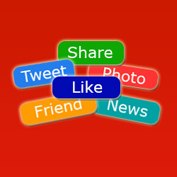 Social Networks Button