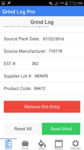 Grind Log Pro App 2